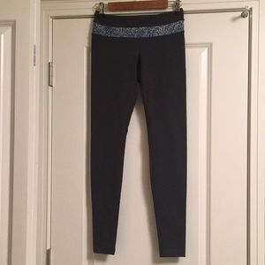 Lululemon reversible grey leggings